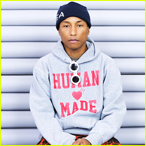 Pharrell Williams Debuts New Hu Adidas Originals Collection!