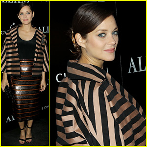 Pregnant Marion Cotillard Accentuates Baby Bump at 'Allied' NYC Screening!