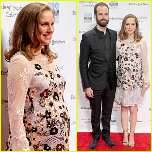 Pregnant Natalie Portman Attends Gotham Awards with Hubby Benjamin Millepied!