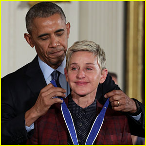 Read President Obama's Touching Speech for Ellen DeGeneres