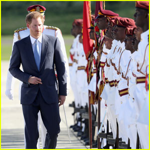 Prince Harry Begins His Royal Visit To The Caribbean