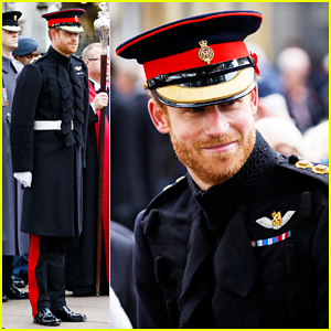 Prince Harry Makes Official Appearance At Fields of Remembrance After Releasing Relationship Statement!