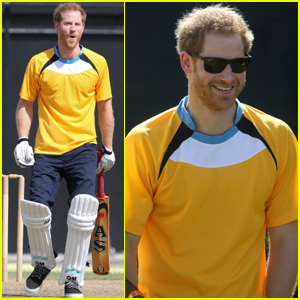 Prince Harry Wins Big on the Cricket Field!