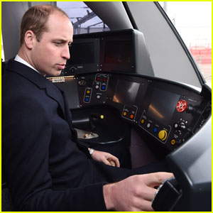 Prince William Says He Was Like a 'Little Kid' Driving a Train