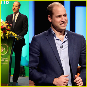VIDEO: Prince William Gives Inspiring Speech At International Illegal Wildlife Trade Conference!