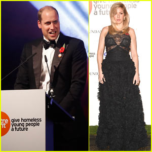 Prince William Hosts Centrepoint Charity Event for Homeless Youth at Kensington Palace