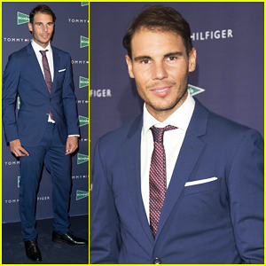 Rafael Nadal Celebrates His Continued Ambassadorship With Tommy Hilfiger!