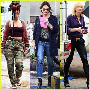 Rihanna, Sandra Bullock & Cate Blanchett Shoot New 'Ocean's Eight' Scenes in NYC