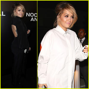 Rita Ora Shows Off Some Skin at 'Nocturnal Animals' Premiere