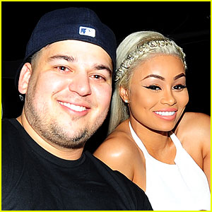 Rob Kardashian & Blac Chyna at Hospital, Baby Girl Coming Soon!