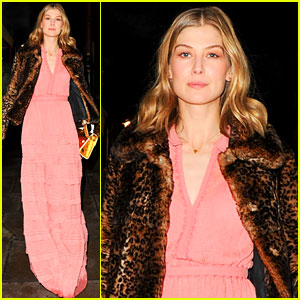 Rosamund Pike Practiced Love Scenes on Dora the Explorer Doll!
