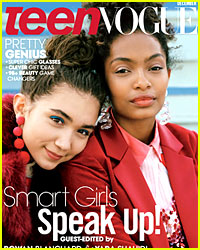 'Teen Vogue' Taps Two Bright Young Stars for New Cover!