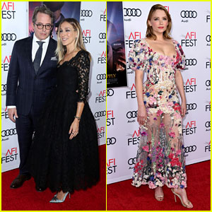 Sarah Jessica Parker Supports Hubby Matthew Broderick at 'Rules Don't Apply' Screening