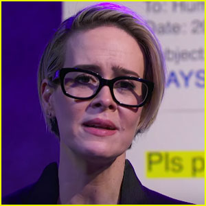 VIDEO: Sarah Paulson Does Dramatic Reading of Hillary Clinton's Leaked Emails