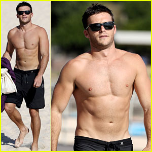 Scott Eastwood Bares His Buff, Ripped Body on the Beach!