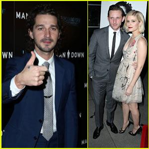 Shia LaBeouf & Kate Mara Premiere 'Man Down' in Hollywood