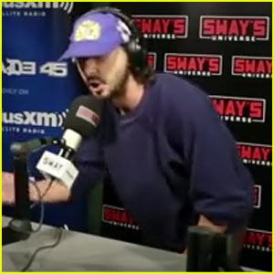 VIDEO: Shia LaBeouf Tries Out Freestyle Rapping - Watch!