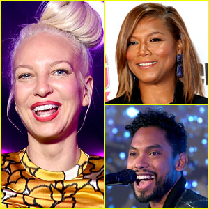 Sia Totally Slays Hamilton's 'Satisfied' with Queen Latifah & Miguel - Listen Now!