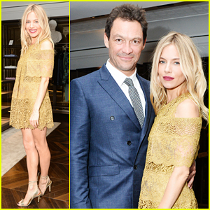 Sienna Miller & Dominic West Celebrate 'The Tale of Thomas Burberry' In New York!