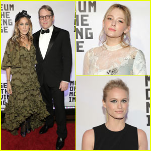Sarah Jessica Parker & Matthew Broderick Attend Museum of Moving Image Salute in NYC