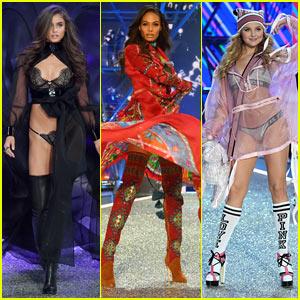 Taylor Hill, Joan Smalls, & Rachel Hilbert Go Glam for Victoria's Secret Fashion Show 2016!
