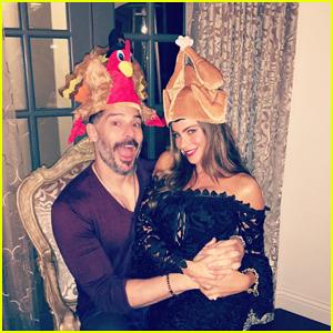 Sofia Vergara & Joe Manganiello Celebrate Thanksgiving With Extended Family (PICS)!