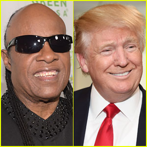 Stevie Wonder Compares Voting for Trump to Asking Him to Drive