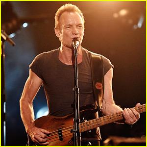 VIDEO: Sting Performs Medley of His Hits at AMAs 2016!