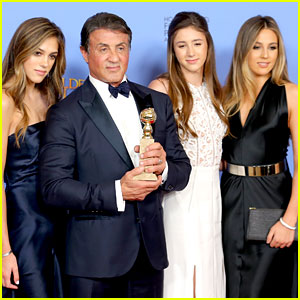 Sylvester Stallone's Daughters Selected as Miss Golden Globe 2017