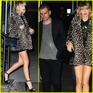 Taylor Swift & Brother Austin Head to Lorde's 20th Birthday Party