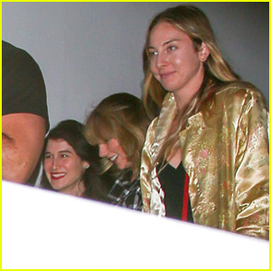 Taylor Swift Catches a Movie Screening with Friends