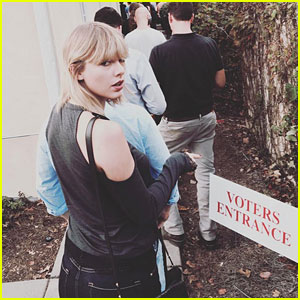 PHOTO: Taylor Swift Votes on Election Day 2016