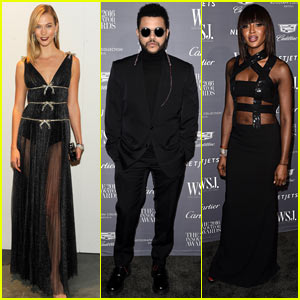The Weeknd Attends WSJ Magazine Innovator Awards, Announces Collaboration with Puma