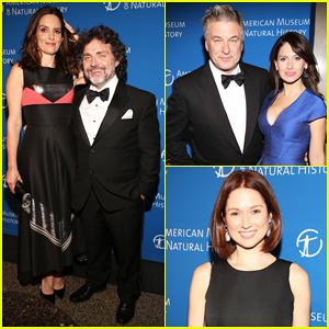Tina Fey, Ellie Kemper & Alec Baldwin Join 'SNL' Stars At American Museum Of Natural History Museum Gala 2016!
