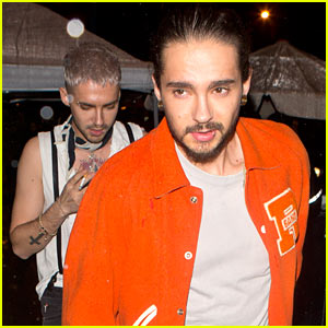 Tokio Hotel's Bill & Tom Kaulitz Party at Drake's AMA After Party