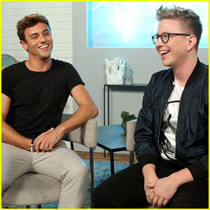 VIDEO: Tom Daley & Tyler Oakley Try & Correctly Guess Celebrity Abs!