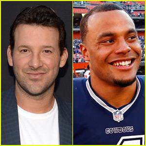 VIDEO: Tony Romo Steps Aside for Dak Prescott, the New Official Dallas Cowboys Quarterback