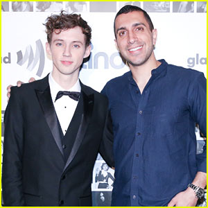 Troye Sivan Celebrates LGBTQ Equality at Tinder & Glaad Event