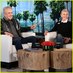 VIDEO: Warren Beatty Talks About Hitting on Ellen DeGeneres