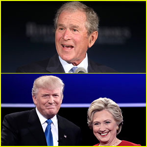 Who Did George W. Bush Vote For? Neither Clinton or Trump!
