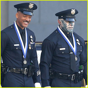 Will Smith & Joel Edgerton Start Work on Cop Movie 'Bright'