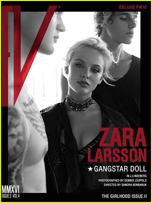 Zara Larsson Goes Full Gangster Doll for FV Magazine