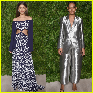 Zendaya & Solange Knowles Stun at CFDA/Vogue Fashion Fund Awards 2016