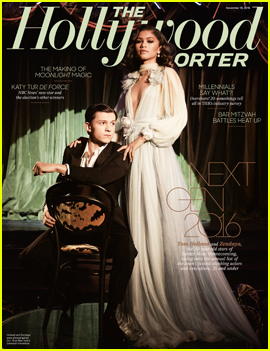 Zendaya & Tom Holland Cover The Hollywood Reporter's Next Gen Issue