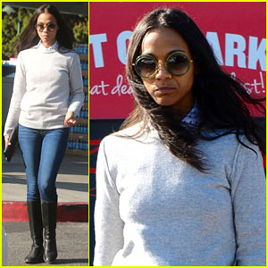 Zoe Saldana Talks 'Live by Night,' Gushes About Ben Affleck