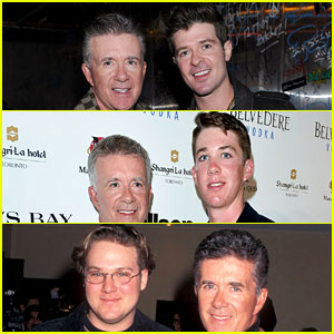 Alan Thicke's Kids - See Photos with Robin, Carter, & Brennan