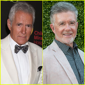 VIDEO: Jeopardy's Alex Trebek Reveals Alan Thicke Got Him His First Big Break