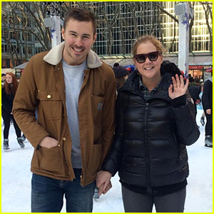 Amy Schumer Goes Ice Skating with Boyfriend Ben Hanisch!
