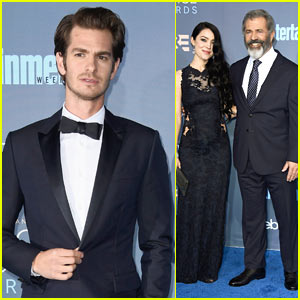 Andrew Garfield Wins Best Actor in an Action Film for 'Hacksaw Ridge' at Critics' Choice Award!