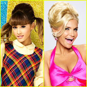 Ariana Grande is Completely Star Struck By 'Hairspray Live!' Co-Star Kristin Chenoweth